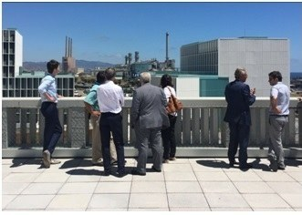 El Comité de Direcció de TERSA visita els Nous Equipaments del Campus
