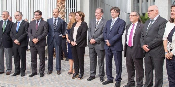 Inauguració del Campus Diagonal-Besòs