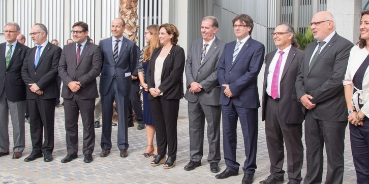 Inauguration of the Campus Diagonal-Besòs